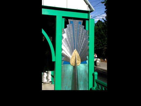 PEACOCK SHELTERS ~ THE PHILADELPHIA ZOO